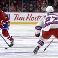 Canadiens hit back to beat Rangers