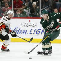 Wild rally from two goals down to beat Ducks