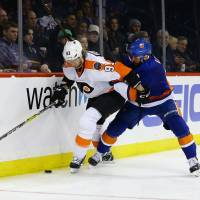 Giroux comes through for Flyers in overtime