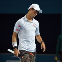 Nishikori falls to Dimitrov in Brisbane final