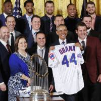 Obama honors Cubs at White House