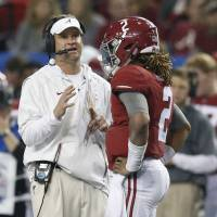 Saban gambling again with early purge of Kiffin