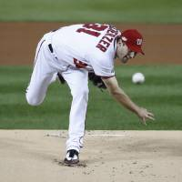 Nationals' Scherzer to skip WBC