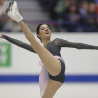 Medvedeva sets points record in win at European Championships