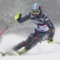 Moelgg ends eight-year wait with World Cup slalom win