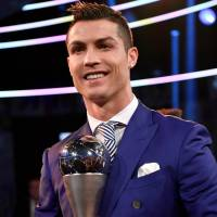 Ronaldo wins FIFA best player award a fourth time