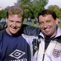 Former England coach Graham Taylor (right), seen here with star Paul Gascoigne in 1992, has died at the age of 72. | AP