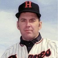 Daryl Spencer, seen in a 1971 file photo, played for the Hankyu Braves from 1964-68 and 1971-72.   KYODO