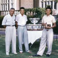 Kosei Kamo, 1955 U.S. Open men's doubles champion, dies at 84