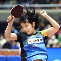 Teen Hirano captures national table tennis title
