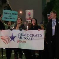 [VIDEO] Inauguration Day march and vigil in Tokyo by Democrats Abroad Japan