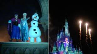 [VIDEO] 'Frozen Forever': a new projection mapping presentation at Tokyo Disneyland