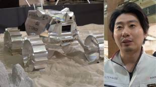 [VIDEO] Moon Rover Hakuto at Nihombashi Mitsukoshi