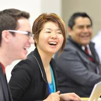 The only AACSB-accredited American  Executive MBA in Japan