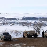 Cleanup starts at Dakota Access pipeline protest camp ahead of spring flood threat