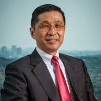 Hiroto Saikawa, tapped to take over as Nissan CEO, has held several key management positions.   AP