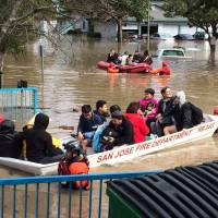 Flooding forces hundreds from homes in San Jose, California