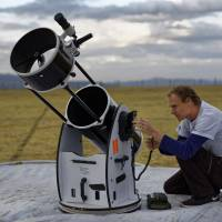 Roaming telescope project introduces Kenyan kids to secrets of the night sky