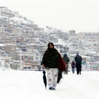 Afghanistan avalanches toll tops 100 as deadly freeze sets in