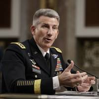 U.S. brass says 'few thousand' more troops needed in Afghanistan, hints Russia backing Taliban