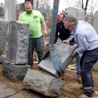 Muslim groups, J.K. Rowling join in support to mend vandalized Jewish cemetery near St. Louis