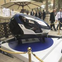Dubai embraces high-tech travel with people-carrying drone