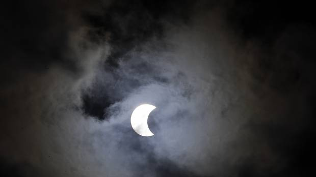 South America, Africa stargazers treated to 'ring of fire' annular eclipse