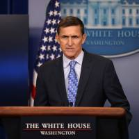 Democrats seek investigation into national security adviser Flynn over possibly illegal contact with Russia