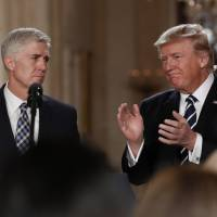Iran-Contra defender Gorsuch became conservative voice on liberal Columbia campus
