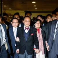 Former Hong Kong leader Tsang found guilty of graft in unprecedented trial