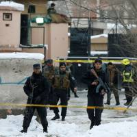 Suicide bomber on foot targets Supreme Court in Kabul, killing 19
