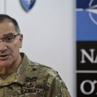 NATO general assures Kosovo troops will stay for as long as needed