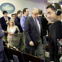 White House bars some news organizations from briefing