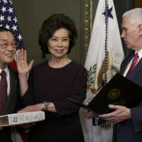 Trump Cabinet pick Chao paid by 'cult-like' Iran exile group linked to American slayings, charity scams