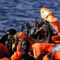 Italy reports 1,750 migrants rescued in Mediterranean as EU prepares Malta summit to curb trafficking