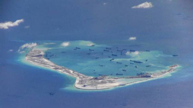 China completing possible missile structures in disputed sea: U.S. officials