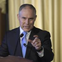 EPA chief Pruitt cozy with fossil fuel industry, Koch brother efforts to block warming curbs, emails reveal