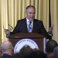 EPA chief Pruitt used private email, despite telling Congress otherwise: records