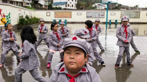 'Red Army schools' impart patriotic education to China's youth