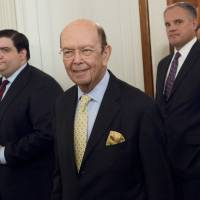 Trump's billionaire commerce secretary pick Ross given tough grilling  over ties with Russia
