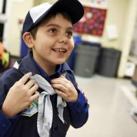 Boy Scouts in New Jersey welcome first transgender boy after policy change