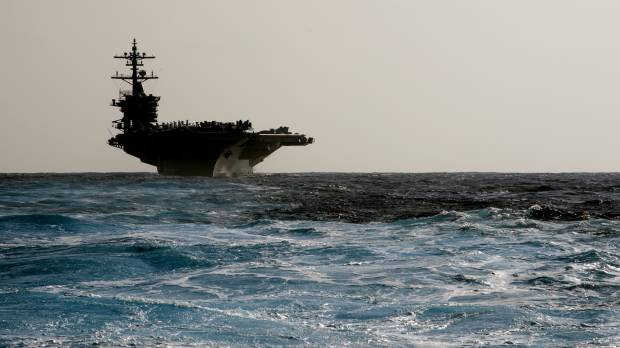 U.S. carrier group begins 'routine patrol' of tense South China Sea