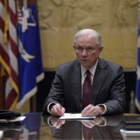 Democrats demand Sessions recuse himself from any probe into Trump's Russia ties