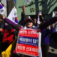 South Korea opposition to seek impeachment of acting leader after he rejects extending Park corruption probe