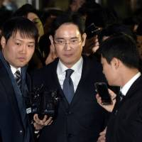 Samsung scion Lee follows father's path in not just business but on scandal trail, too