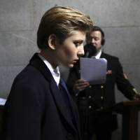 As Barron Trump is learning, being a White House kid comes with pluses and minuses