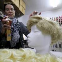Trump toupees all the rage during Carnival season in Austria