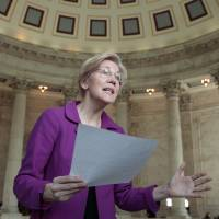 McConnell muzzles Warren as Republicans rewrite Senate rules to get Trump picks installed