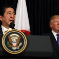 Abe unlikely to call election before Trump visit