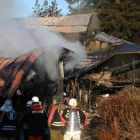 Four seniors missing in Iwate house fire